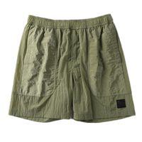 Pantalones de playa Opstoney 2021 Konng Gonng Marca Pantalones cortos de verano Moda de hombre Corriendo el proceso de lavado de secado rápido de la tela de algodón puro