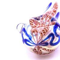 Colore Filo di vetro Tubi da fumo di vetro Diversi colori Tubo di tabacco Cucchiaio fatto a mano tubo alto 74 g tubo di fumo galass