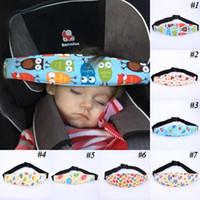 مقعد النوم ميضعة روضة للأطفال قابل للتعديل اطفال الرضع مقعد سيارة السلامة تثبيت الحزام أطفال رئيس الدعم عربة حزام