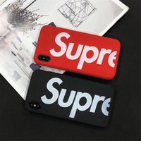 Fashion US street Sup Matte hard plastic cover case Japan tr...