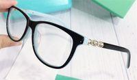 Nova designer de moda óculos de prescrição óptica 2135 Cat Eye Frame Estilo popular Qualidade superior vendendo lente clara HD