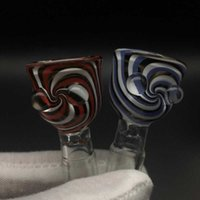 Reversal Wig Wag Glass Bowl With Transparent Joint 14mm 18mm...