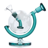 Globe Glass Bongs Dab Rig Water Pipes 5. 7inches tall water b...