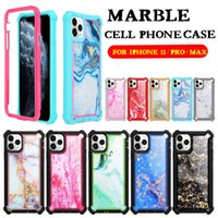 Marble Case For Iphone 11 11PRO MAX XS 8PLUS Epoxy Marbling ...