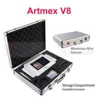 أحدث ذكي micropigment التجميل الرقمية artmex v8 وقت طويل اينر الوشم آلة microblade الحاجب آلة القلم