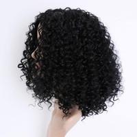 Synthetische Günstige Perücken Afro verworren lockige Perücke Kurze Perücken Cosplay Perücken für Afica schwarze Frau Bestseller heiße Art