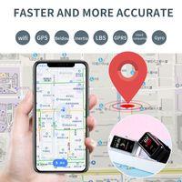 neue Farb-Touch-Screen GPS-Kind Smart Watch Telefon Position Kind-Uhr-WIFI SOS Smart Baby-Uhr-PK Q50 Q80 Q60 Q90