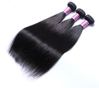 Ais Hair Straight 3 Bundles Natural 1B Color Brazilian Virgi...