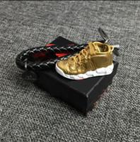 Mode Sport Schuhe Schlüsselbund Niedlichen Basketball Schlüsselanhänger Autoschlüssel Tasche Anhänger Geschenk DIY 3 d kreative Paare Schuhe Form