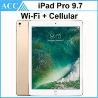 Reformado originales Apple iPad Pro 9.7 pulgadas 1pcs 2016 WIFI + Celular IOS A9X chipset de doble núcleo 2 GB de RAM 32 GB 128 GB 256 GB ROM PC de la tableta de DHL