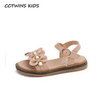CCTWINS Kids Shoes 2020 Summer Children Fashion Pearl Shoes ...
