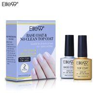 Elite99 Top Base Coat Soak Off Gel ногтей UV LED Nail Primer Builder Fingernail Гель лак прозрачный лак для ногтей Art