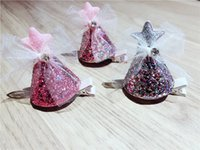 Boutique 12pcs Fashion Cute Glitter Star Party Hat Hairpins ...