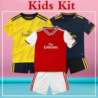 Gunner Kids Full Kit Soccer Jersey Gunners 2020 Home Away Th...
