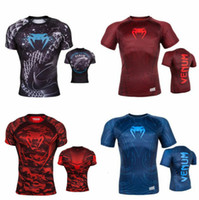 Summer Fashion HOT MMA deportes UFC M1 camiseta - boxeo Muay Thai Venom Nightcrawler MMA Fighting manga corta O-cuello camiseta S-4XL de gran tamaño