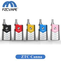 Authentic ZTCSMOKE CANNA Vape Kit 400mAh Capacity Vape Vapor...