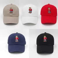 Hot sale fashion hat Red Hat Authentic bear Dad Baseball Cap...