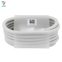 100pcs lot 1m Typec Super Charging Data Cable white round Type-C usbC Data Charger Cable For Samsung sony xiaomi