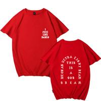 Мужские футболки, я чувствую себя как Пабло Thirt Жизнь рок плюс размер пружины и с короткими рукавами улицы