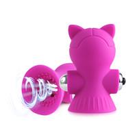 Clitóris otário Vibrador Sex Toys For Women Clitóris Estimulador Oral Lambendo o bico do Chupando Boquetes Vibrador fêmeas Masturbator Brinquedos