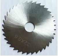 sega circolare in acciaio ad alta velocità 160 * 0,8 * 45mm HSS utensili di taglio della taglierina