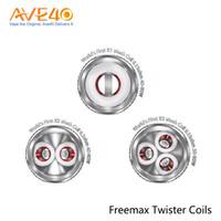 Freemax Fireluke 2 Bobinas X1 Malha X2 Malha X3 Malha Bobinas Fit Para Freemax TWISTER Kit 100% Autêntico