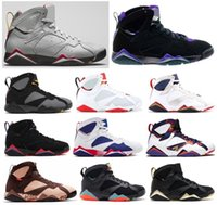 7 Hare Ray Allen Bordeaux Raptor Basketball Shoes Men 7s GMP...