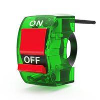 Moto phares dépassant interrupteur lumière bouton voiture électrique modifié guidon couleur interrupteur transparent