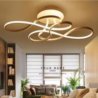 Светодиодный потолочный свет Современное лампу Потолочные светильники для гостиной спальня потолочная лампа тумана с дистанционным управлением Лампара LED Techo