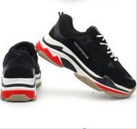 New Designer New fashion Dad Shoes Breathable Triple s Men W...