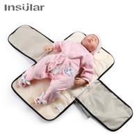 Novo infantil bebê portátil Baby Baby Mudando Mat Impermeável Multi-Função Bebê Fralda Mudança Almofadas