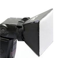 Fotografía portátil Box Soft Caja de softbox Difusor Flash para Canon Nikon Sony Pentax Olympus Sigma Minolta DSLR Speedlite Flash
