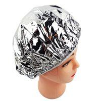 La feuille d'aluminium ultra-mince bain Hoods Nourrissant jetable à sec étanche Douche Cap huile de cuisson des cheveux Cap de la RRA2541