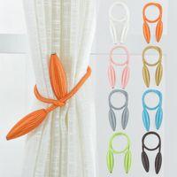 2pcs / lot Cortina Tiebacks Cinturones clips colgantes Cuerdas Cortina Holdback de las hebillas del corchete de la cortina Accesorios sostenedor del gancho de la decoración del hogar