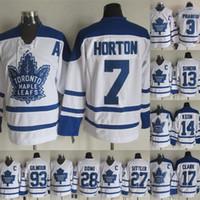 Toronto Maple Leafs 27 Darryl Sittler 7 Tim Horton 1 Johnny Bower 17 Wendel Clark 16 Darcy Tucker 93 Gilmour 14 Dave Keon Hockey Jersey