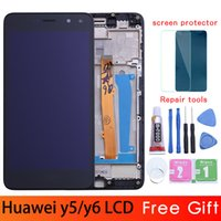 Gold / weiß / schwarz für huawei nova young 4g lte / y6 2017 / y5 2017 lcd display + touchscreen digitizer assembly mya-l11 mya-l41
