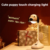 Touch two- color adjustment LED desk lamp Night children'...