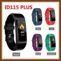 ID115 Artı İK GPS Bluetooth Smart Bilezik izlemek Spor Tracker SmartWatch Adımsayar Nabız smartbracelet Bileklik