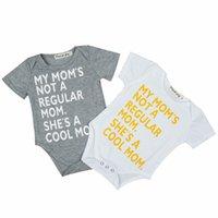 298648739 Wholesale hip baby clothes resale online - Newborn Design Jumpsuit Baby Hip  Hop Clothes Short Sleeve