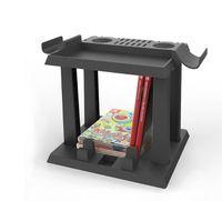 카드 소지자를위한 게임 카드 박스 스토리지 스탠드 CD 디스크 홀더 닌텐도 Nintend 스위치 NS 지원