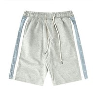 Mens Shorts donne degli uomini modo di alta qualità Estate Sport Shorts Mens Bianco Blu Stripes Shorts