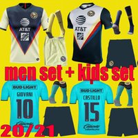 20 21 men kids Mexico Club de Futbol America 3rd soccer jers...