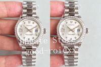 28mm senhoras mãe de relógios de discagem de pérola tw fábrica ETA assistir automaticamente 2671 movimento ladys 279136 mulheres data de aço cristal relógios de pulso