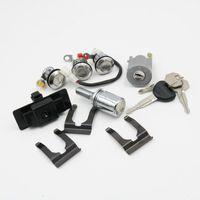 Pour Mitsubishi Pajero MONTERO MK2 4G54 4G64 6G72 4M40 voiture Lgnition / Boîte à gants / Pneu de secours / verrouillage de porte Cylindre avec clé Ensemble complet