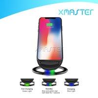 2 Cewki Qi Ładowarka Bezprzewodowa Wysokiej Jakości 9 V N900 Szybkie uchwyty do obsługi dla iPhone'a 11 XR Samsung Note 10 z pakietem detalicznym