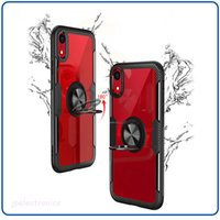 For iphone xs xr phone case car ring bracket mobile phone ca...
