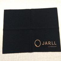 Personnaliser le logo imprimé l'emballage de Chiffon pour l'argent Nettoyant bijoux d'or blanc de l'option couleurs de la marque d'or noir la meilleure qualité