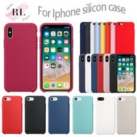 OEM logo silicone case for iPhone 6 7 8 Plus X XS X Max XR s...