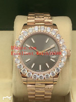 Hot Sell Mens orologi 41 millimetri 126303 126334 126.231 oro rosa 18 carati Diamond Bezel Data Asian 2813 movimento automatico Mens Orologi di Natale gi