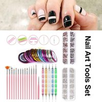 Nail Suit For Manicure Kit Nail Lamp File Art Decoration Pai...